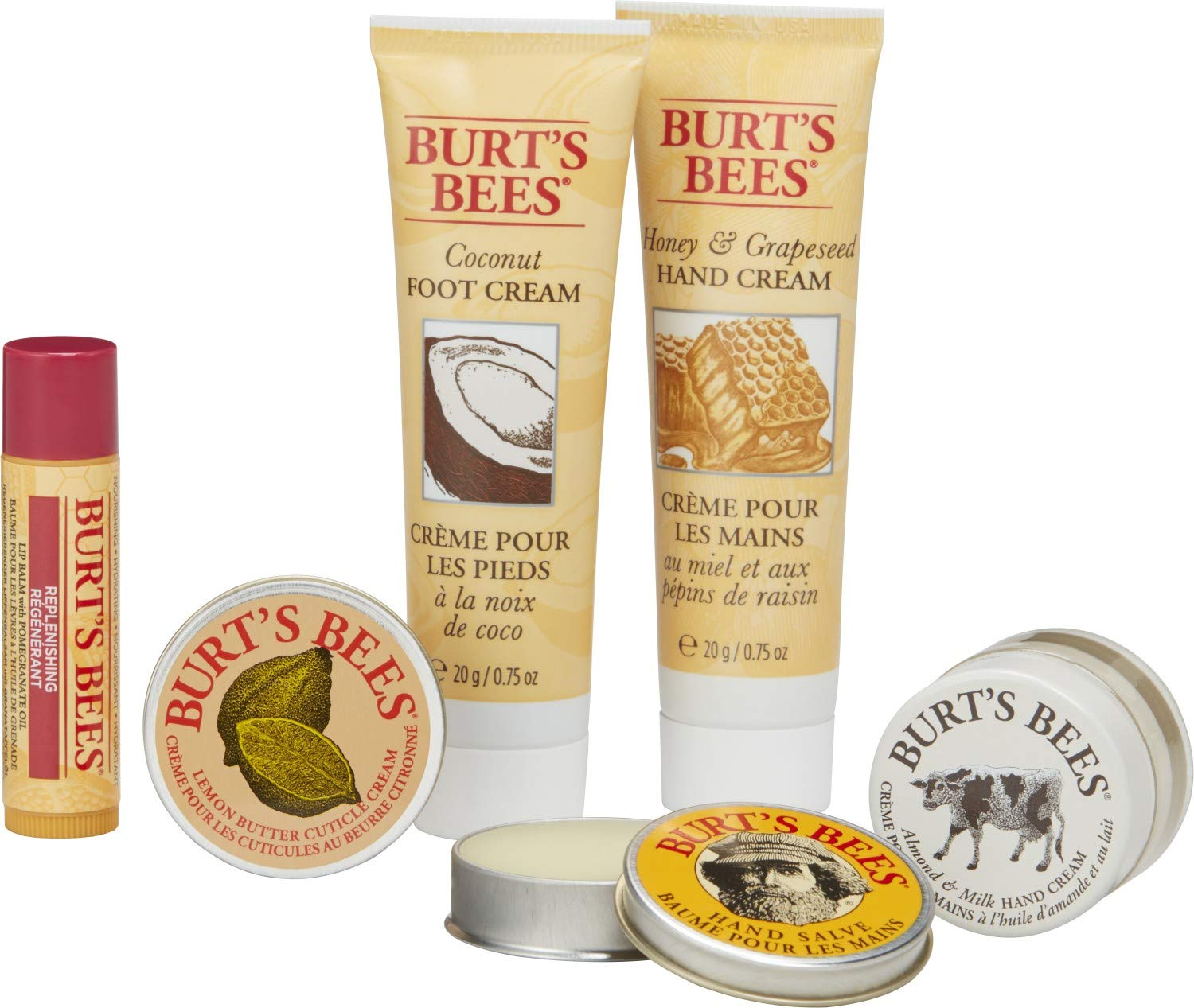 Burts Bees Skincare and Lipcare items